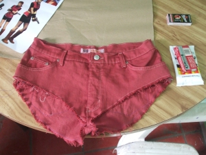 Shorts Claire Redfield
